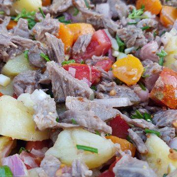 #w Salade de boeuf
