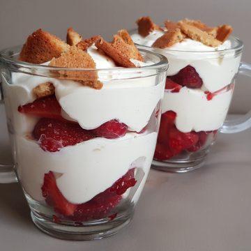 #s Coupe fraîcheur aux fraises