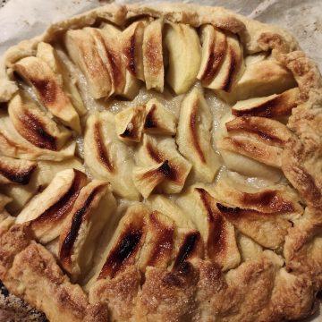 #d Tarte rustique aux pommes