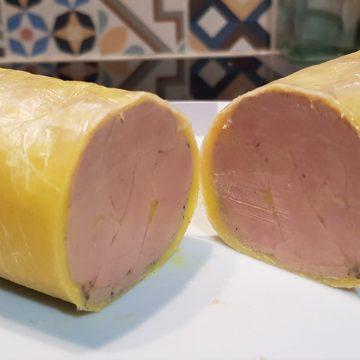 #a Foie gras de canard au torchon