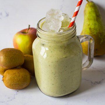 #Smoothie pommes, poires & kiwis